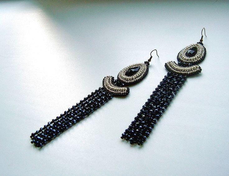 """Купить Серьги """"Фараон"""" - египет, египетский стиль, египетские украшения, фараон…"""