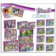 Lego Compatible Bricks Bela Friends Series Free Shipping