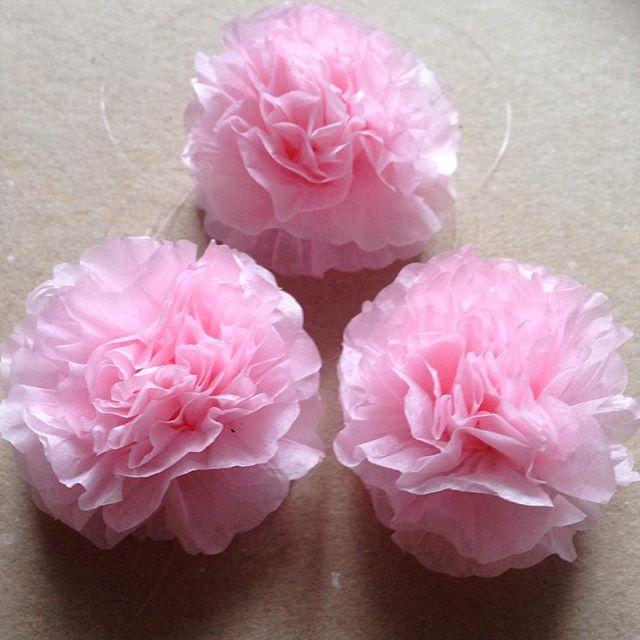 Kytičky, 5cm (flowers, light rose) #svetleruzova #pom #kyticky #kvetiny #svatba #svatebnidekorace #party #partydecor #decor #velikonoce #jaro #zamek #beauty #wedding #prague #expatsprague #czech #health #fashion #interier #instagram