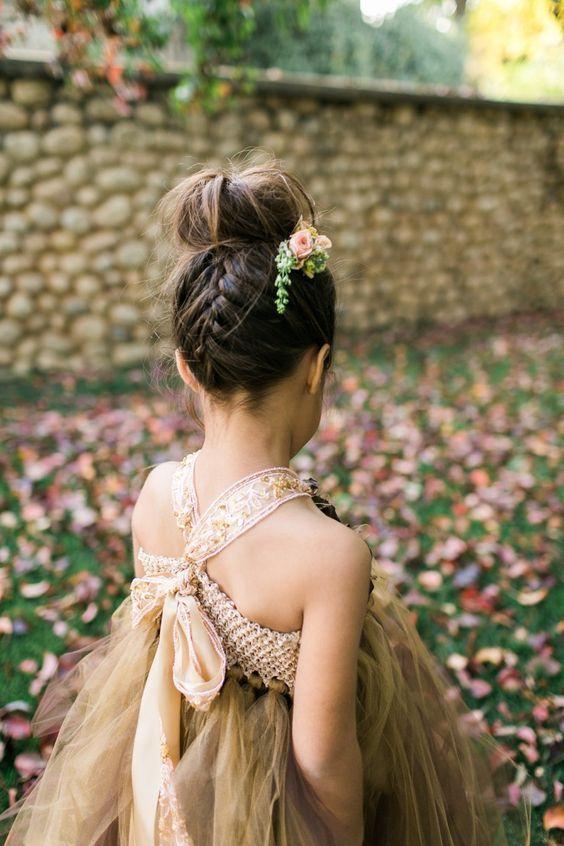 Remarkable 1000 Ideas About Flower Girl Hairstyles On Pinterest Girl Short Hairstyles For Black Women Fulllsitofus