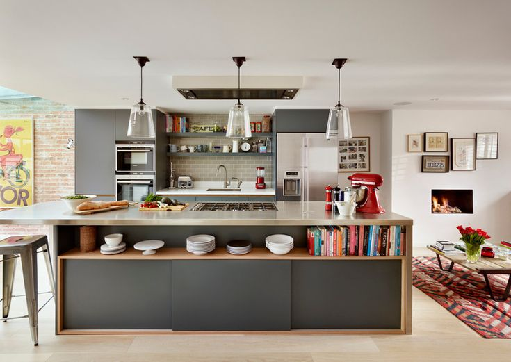 Contemporary Kitchen by Roundhouse | #Kitchen - Pinned onto ★ #Webinfusion>Home ★