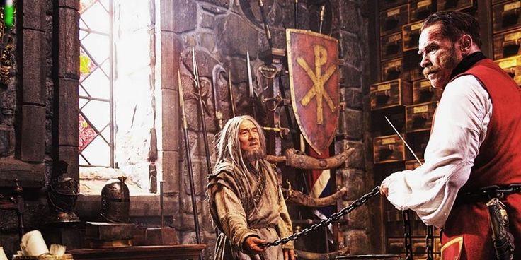 Jackie Chan e Arnold Schwarzenegger em novas fotos do filme Viy-2