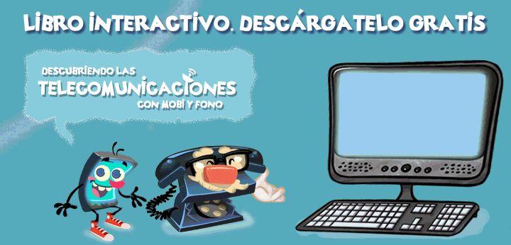Descubriendo las Telecomunicaciones con Mobi y Fono | Fundación Telefónica España