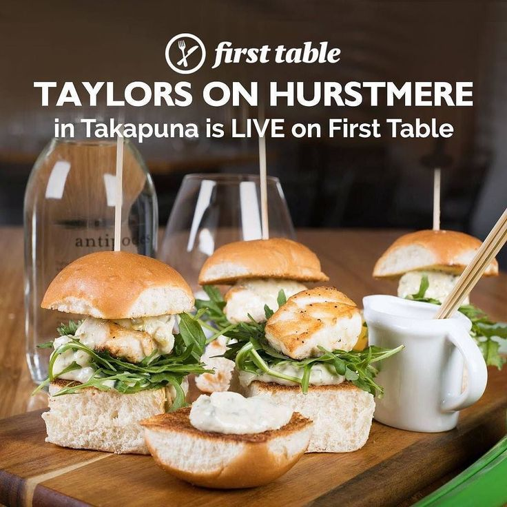 Takapunas newest little hotspot  . . Book the #firsttable for #TaylorsOnHurstmere in #Takapuna and you'll get 50% off the food bill for 2 to 4 diners . . . Taylors on Hurstmere is Takapunas newest little hotspot. Close to the beach this licensed eatery serves bites to share and an extensive range of craft beers and wines.  Great for a bite with friends share small plates like kumara and blue cheese arancini lamb and mint meatballs and snapper sliders with tartare sauce. Theres no need to get…