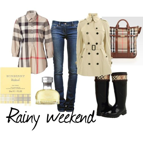 Burberry weekend, created by gillianmb on Polyvore