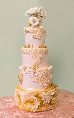 свадебные торты с рюшами - Поиск в Google