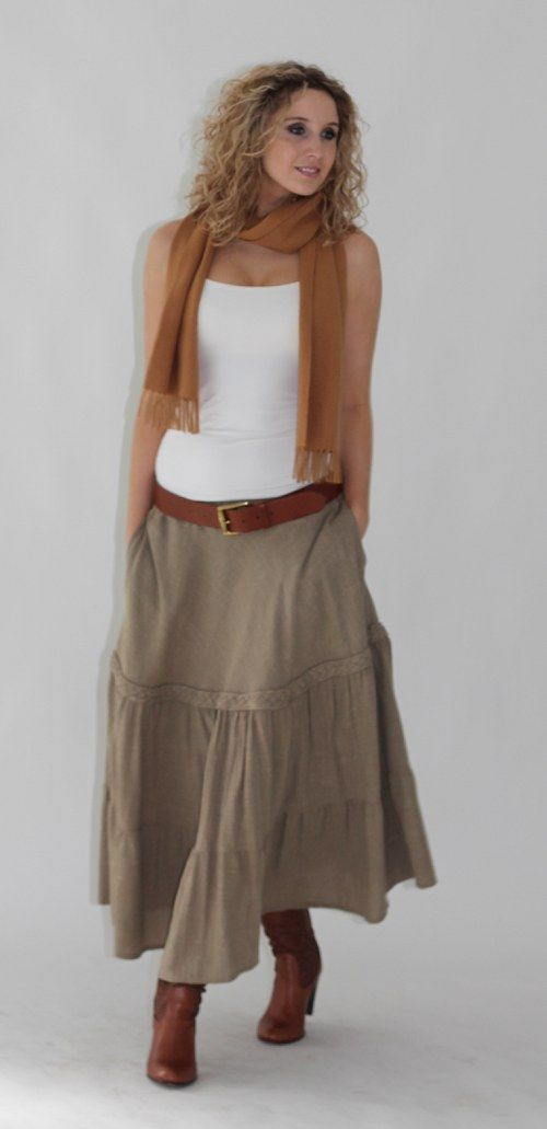 Kanýrová sukně - velikost M
