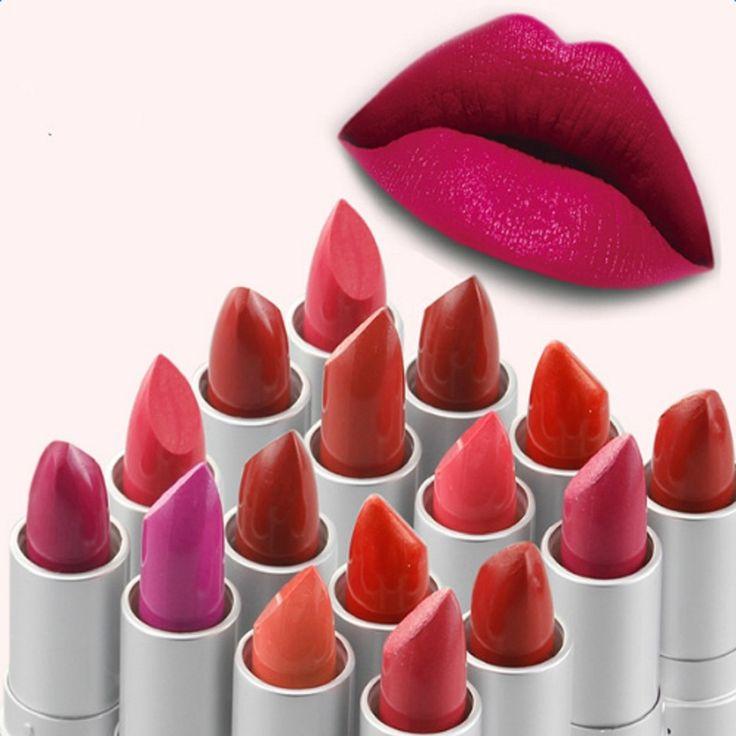 Sexy Rossetto di Trucco di Bellezza Per Le Donne Opaco Balm Impermeabile Batom Rossetto Maquiagem Cosmetici di Bellezza Lip Make Up