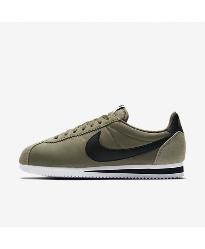 separation shoes 92afa e1f22 Mens Nike Classic Cortez Nylon Trooper White Black