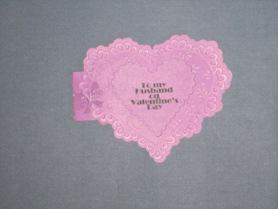 Valentine Card for husband by CreativeCathyNY on Etsy, $2.50