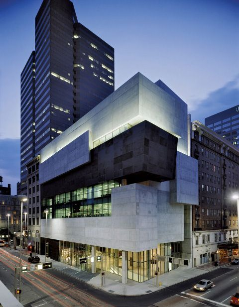 Zaha Hadid, The Lois and Richard Rosenthal Center for Contemporary art