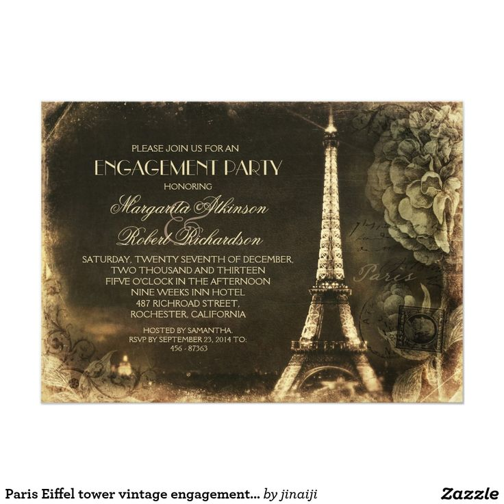 654 best Engagement Party Invitations images – Vintage Engagement Party Invitations