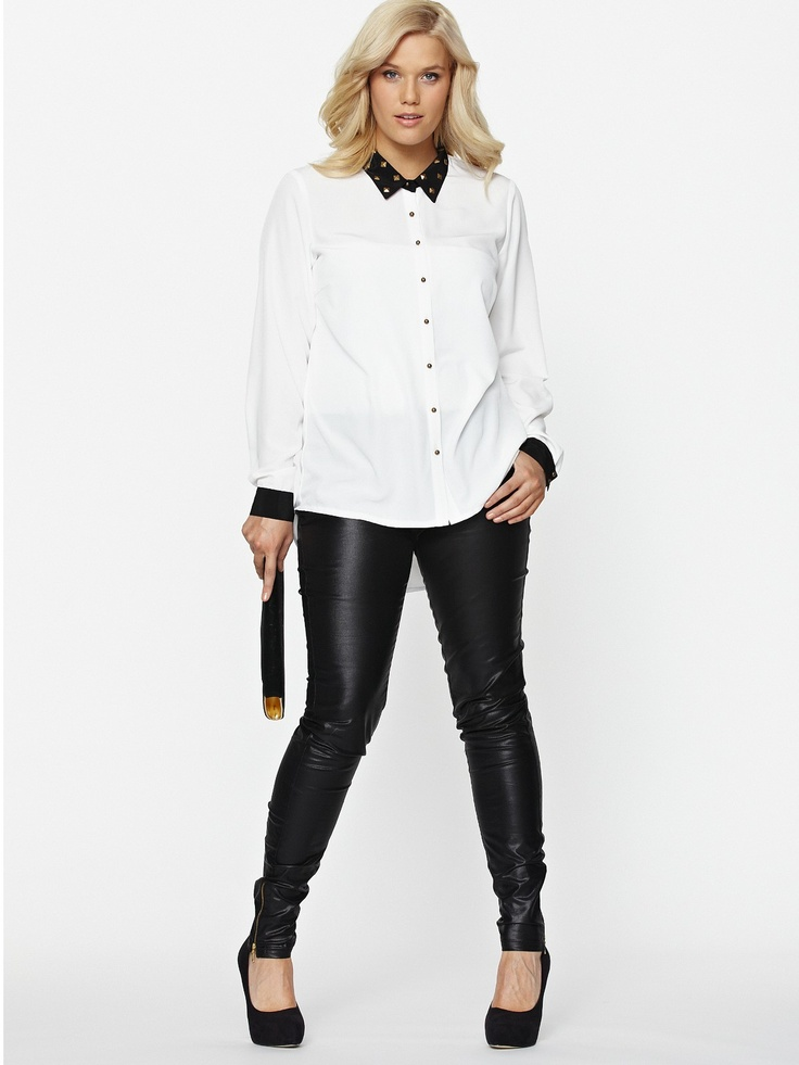 So Fabulous High Shine Ankle Grazer Jeans - very.com