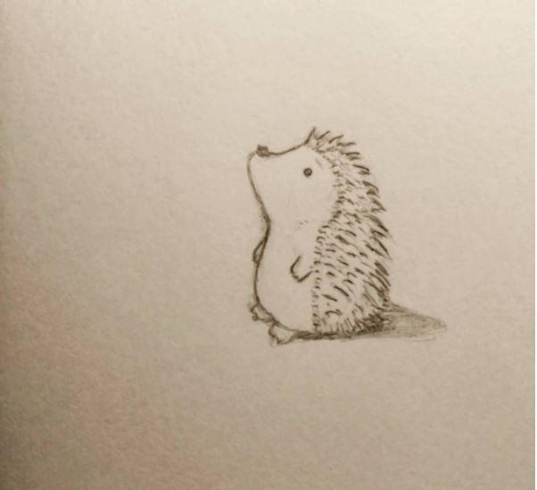 Day 151 - Hedgehog vs balloon animals Day 150 - Cute hedgehog