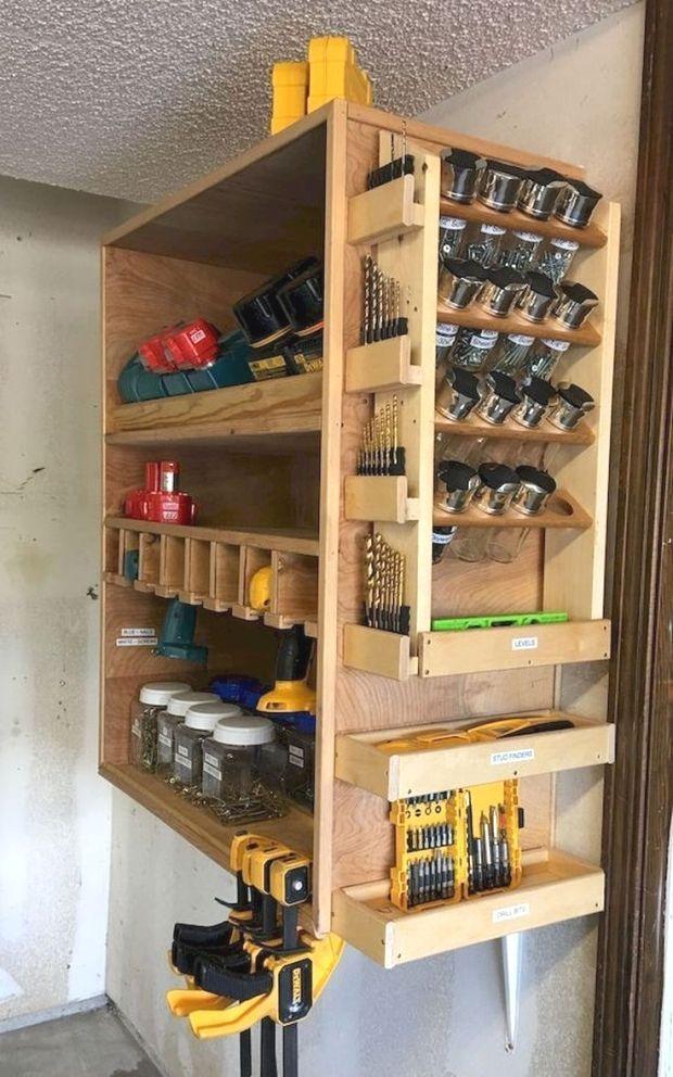 Epingle Par Max Cloute Sur Abris Rangement Outils Rangement Outil Atelier Rangement Outil Garage