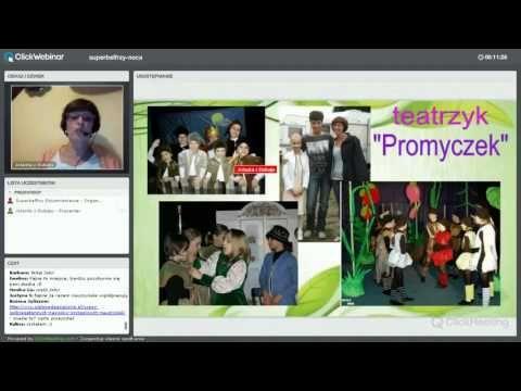 Webinar Superbelfrów (8) Gość specjalny – Jolanta Okuniewska - YouTube