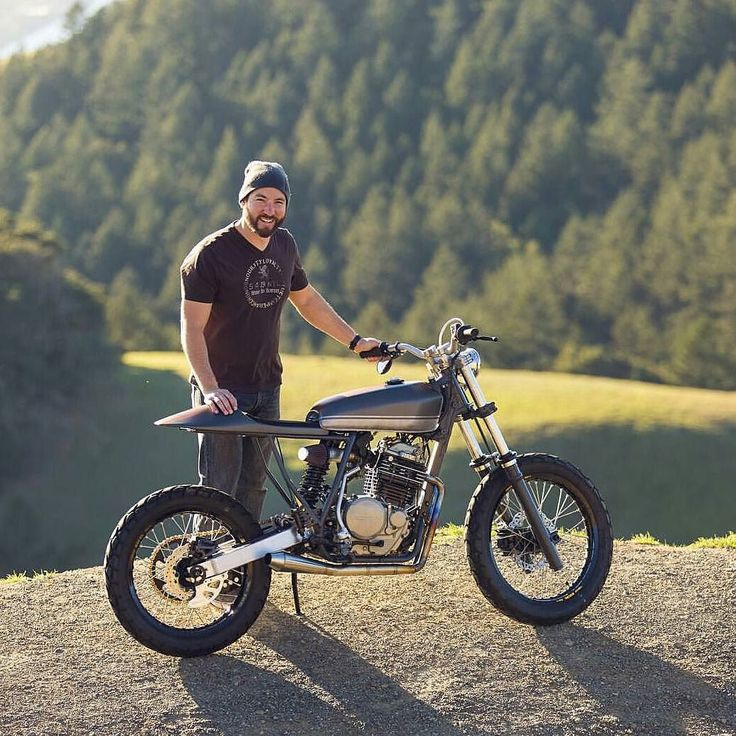 Honda XR600 Cafe Racer