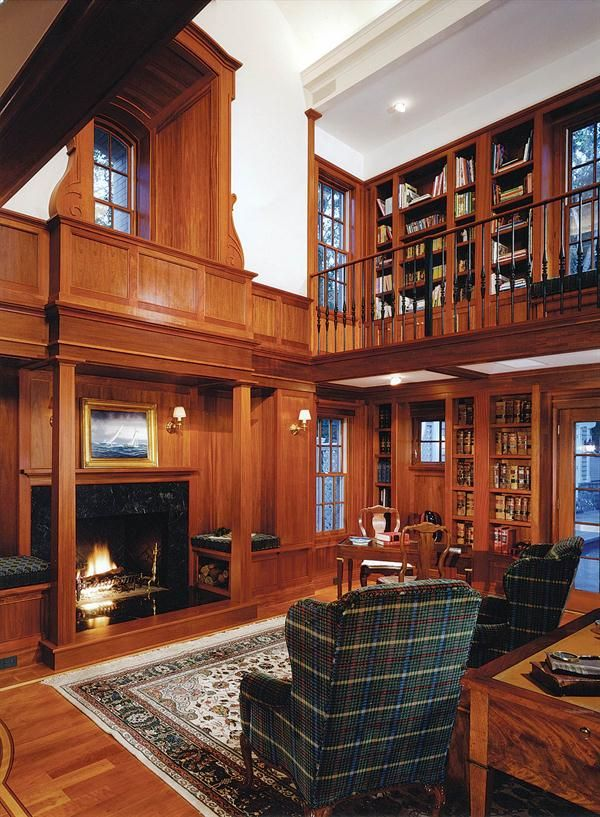 Room Study: Home Libraries   Interiors, Detail, Home Office   Custom Home  Magazine