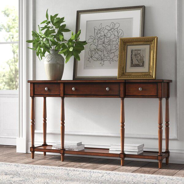 Beaumont 60 Console Table In 2020 Console Table Wood Console Table Console Table Hallway