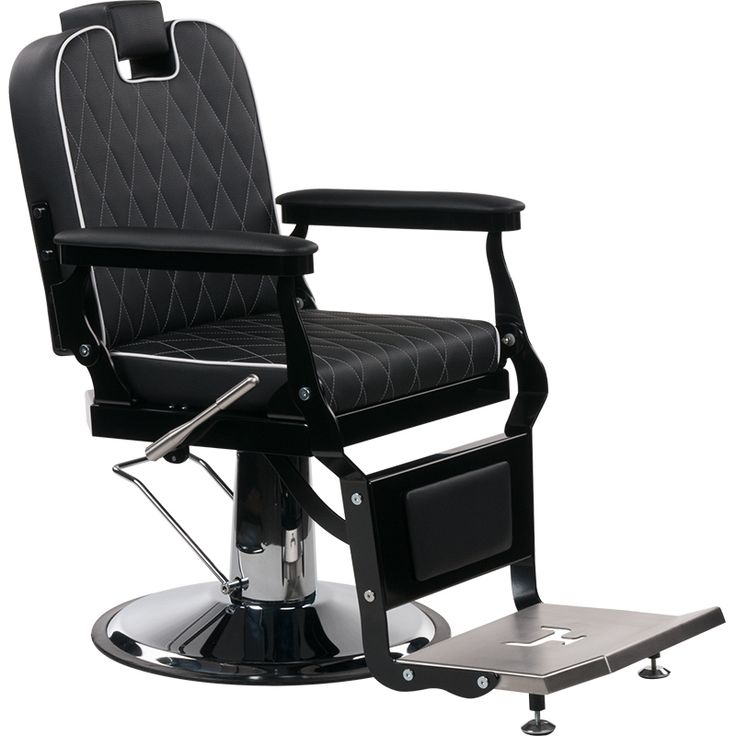London Barber Chair with diamond padding