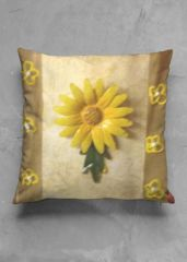 yellow flower pillow: What a beautiful product!