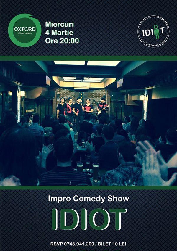 Impro IDIOT @Oxford Pub
