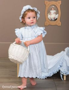 Royal Baby Dress Knitting Pattern : 281 best images about Baby & Little Girl Knitting Patterns ...