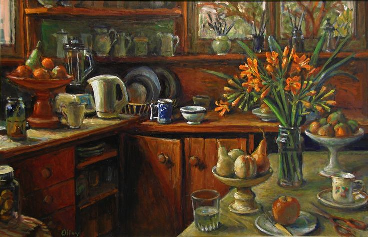 still life - Margaret Olly's kitchen ...