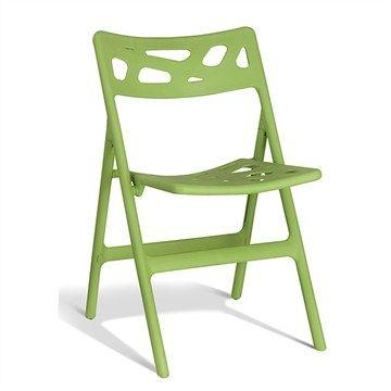 Mono Commercial Grade Folding Chair - Green