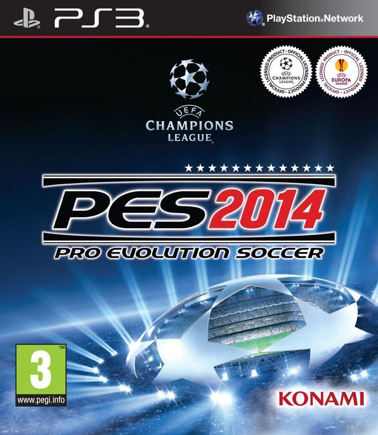 PS3 Video Game Pro Evolution Soccer 2014 Sony PlayStation 3 ** Free Shipping **