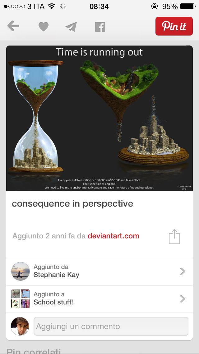 TimeIsRunningOut, Deforestation