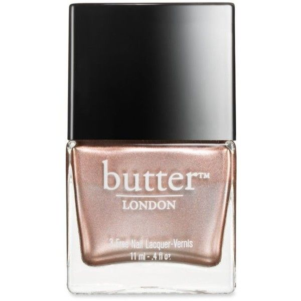 Butter London Goss Boho Goss  Nail Lacquer ($15) ❤ liked on Polyvore featuring beauty products, nail care, nail polish, goss, butter london, butter london nail polish and butter london nail lacquer
