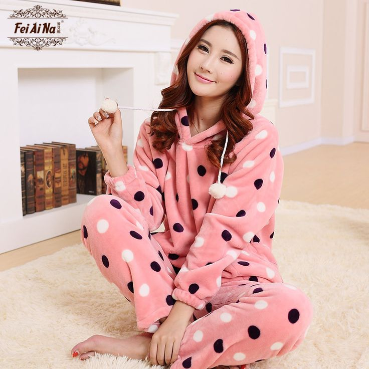 Cheap pajama suite, Buy Quality pajamas for pregnant women directly from China pajama sexy Suppliers: 2015 Sheinside brand pijama fashion Coral velvet pijamas mujer womens kigurumi pijama vestidos pajamas for women pyjamas