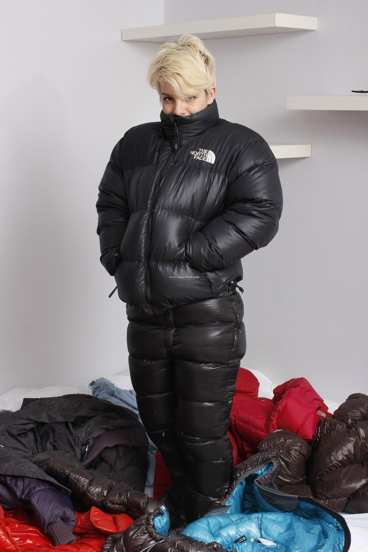 The North Face Nuptse With Down Pants