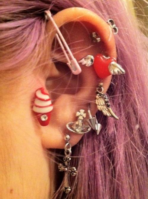Piercings #piercings, #body, https://apps.facebook.com/yangutu