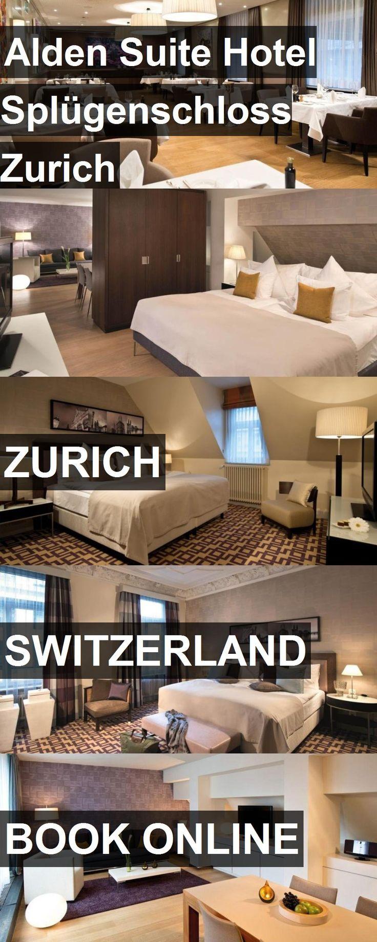 Alden Suite Hotel Splügenschloss Zurich in Zurich, Switzerland. For more information, photos, reviews and best prices please follow the link. #Switzerland #Zurich #travel #vacation #hotel