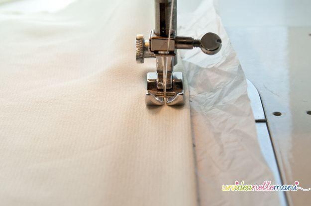 Come cucire le stoffe sottili