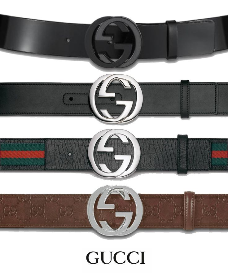 gucci belt -love them all!