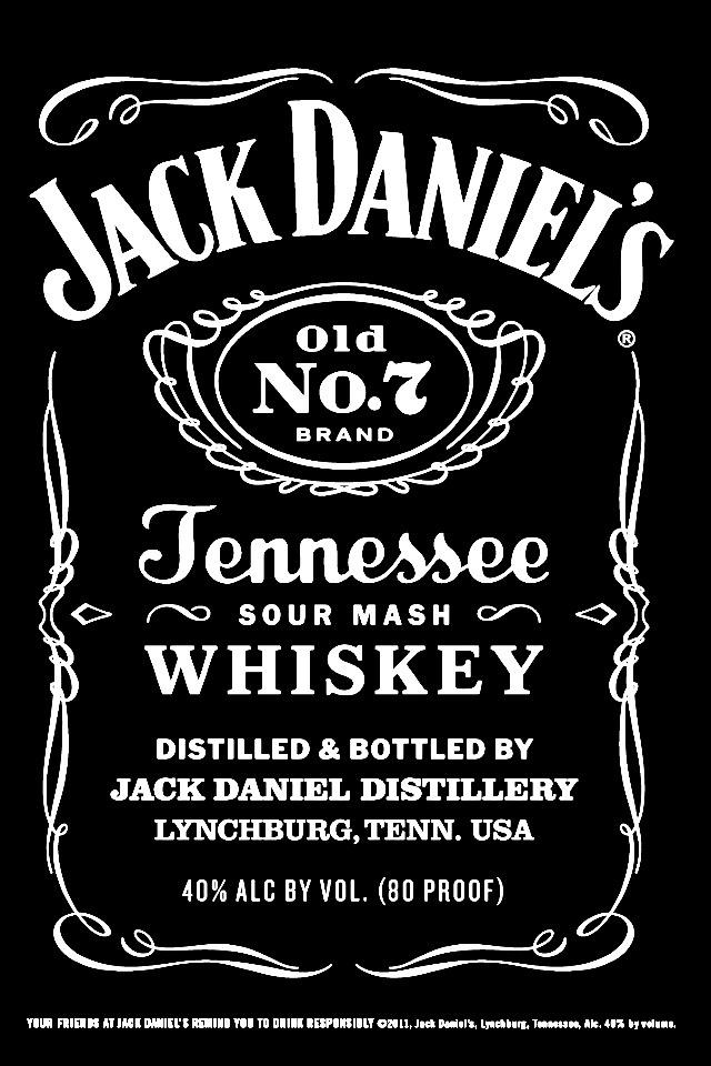 Jack Daniels. iPhone wallpaper Pinterest