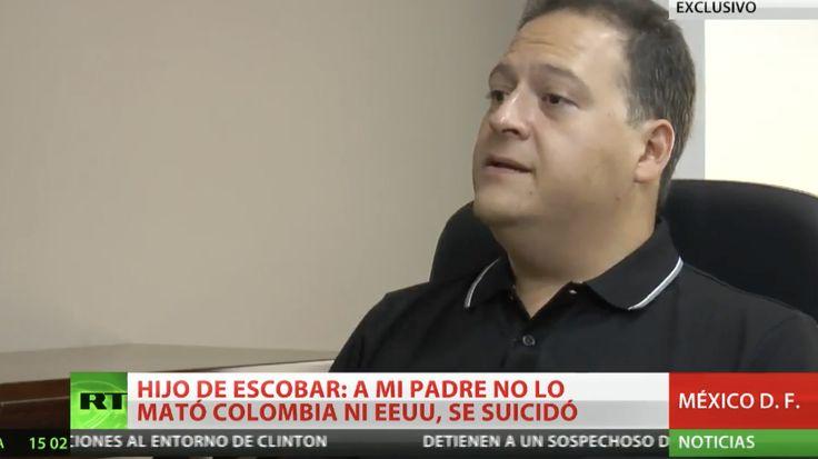 ENTREVISTA EXCLUSIVA. Hijo de Pablo Escobar rompe el silencio y explica a cómo murió su padre en realidad