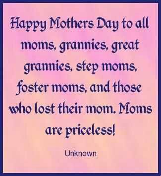 life inspiration quotes: Happy Mother's Day Quote