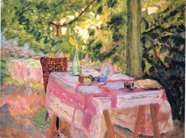 Pierre Bonnard--photos really don't do these colors justice