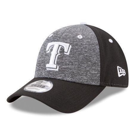 "Texas Rangers New Era 9Forty MLB ""League Shadow 2"" Adjustable Hat - Black - Walmart.com"