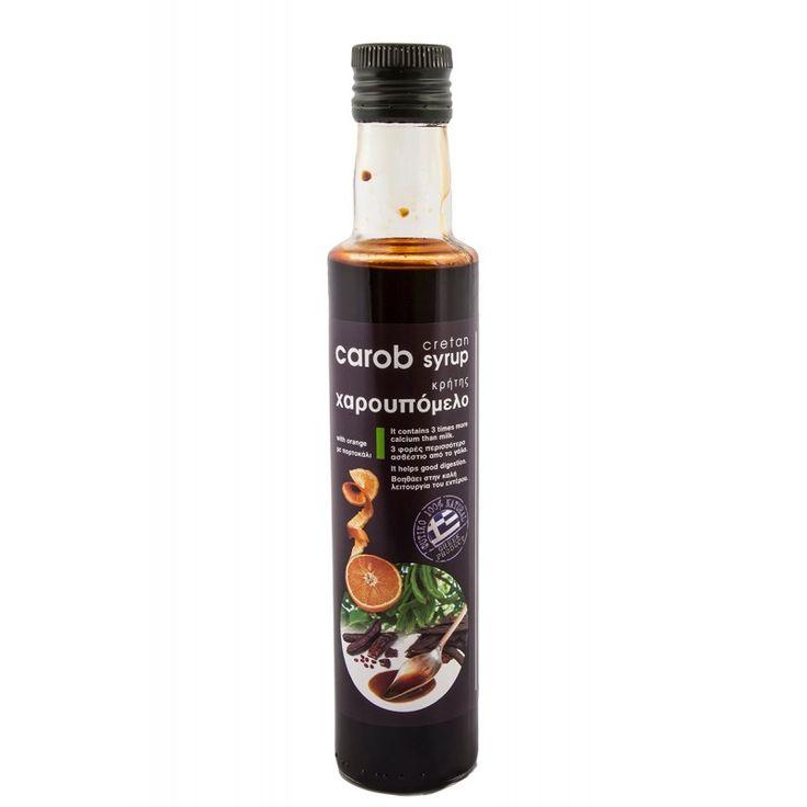 Σας προσφέρουμε το εξαιρετικής ποιότητας χαρουπόμελο με πορτοκάλη από την Κρήτη που παράγεται από σιρόπι χαρουπιών και φυσικό εκχύλισμα έλαιο πορτοκαλιού.