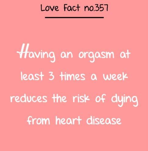 Is having sex 3 times a week healthy