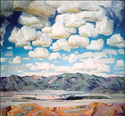 """""""New Mexico Skies,"""" 1943, Guido Cadorin (1892 - 1978)"""