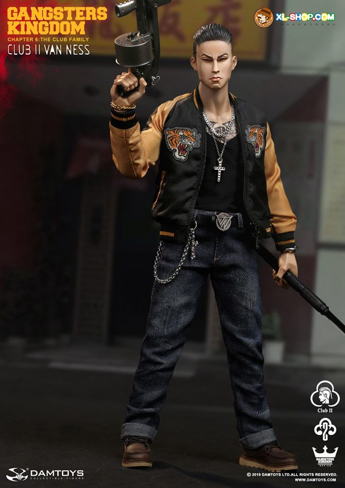 Jeans for DAMTOYS GK017 Gangsters Kingdom Club 2 Van Ness 1//6 Scale Figure