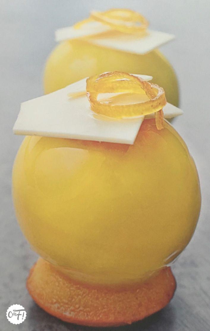 """C'est ma fournée !: Le """"Yellow"""" de Christophe Felder (entremets citron/fraise)"""