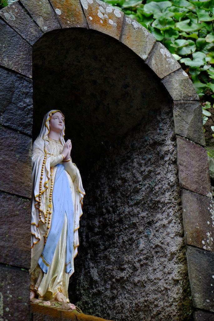 頭ヶ島天主堂 聖母マリア像