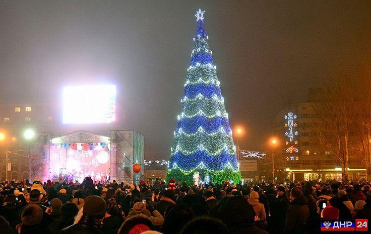 Донбасс мечтает о мире для всех